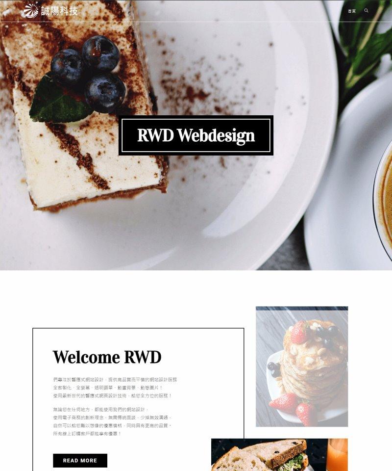 網頁設計-風格04