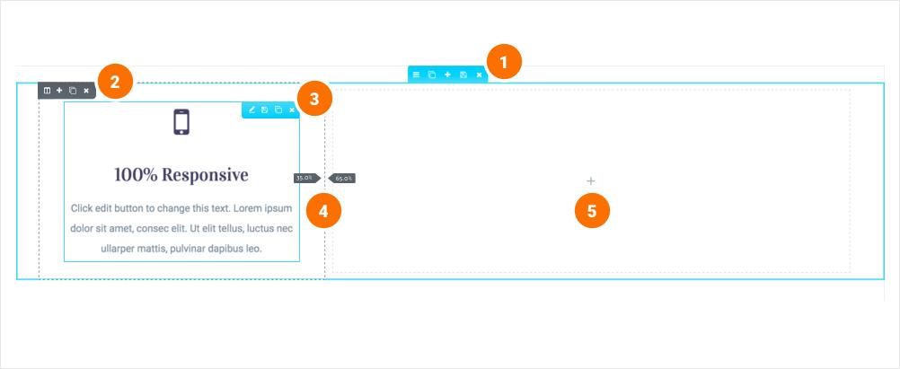 如何新增、移動、複製、刪除區塊 2