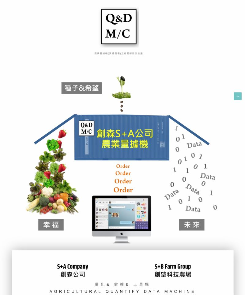 網頁設計-自然農法