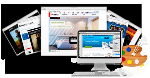 網頁設計作品範例