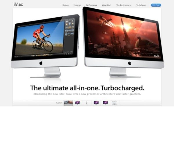 2014年Apple網頁設計